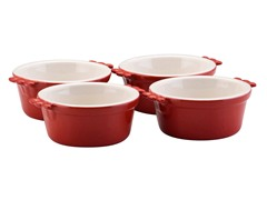 6oz Ramekin 4Pc Set - Rouge