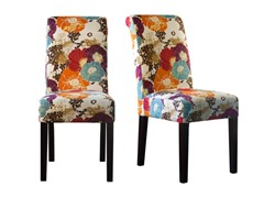 Floral Graffiti Set of 2 Chairs