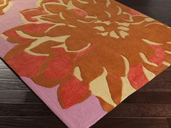 Budding Lavender & Pink Rug - 5 Sizes