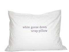 235TC Rhapsody Wrap Bed Pillows: WGD 30/70- Multiple Sizes