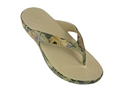 Dawgs Men's Flip Flops, Mossy Oak