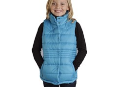Blue Quilted Vest (XS-XL)