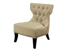 Vista Cream Fabric Chair