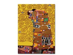 Fufillment by Gustav Klimt