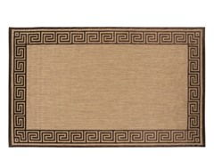 In/Outdoor Rugs Portera Natural Choc