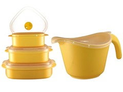Reston Lloyd Bowl/Storage Set-4 Colors