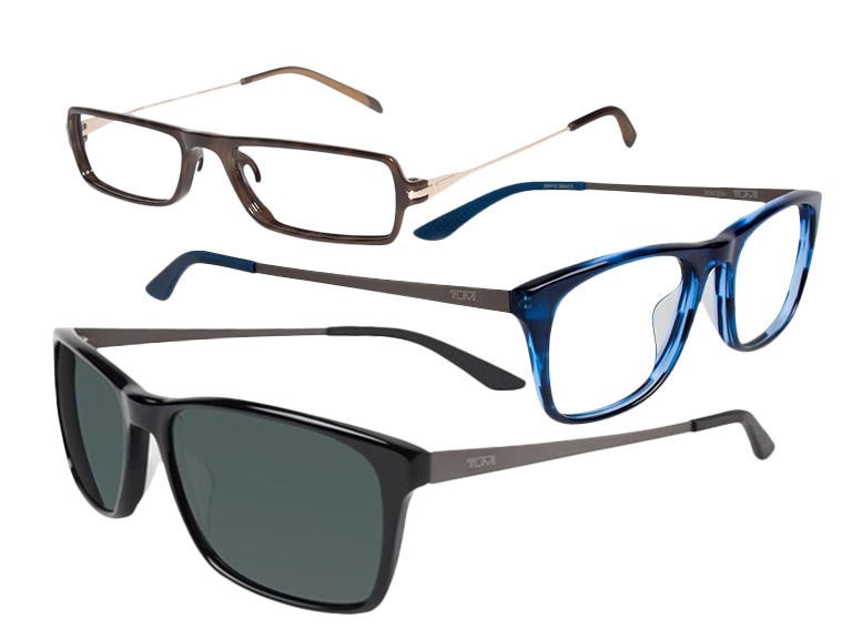 Tumi Sunglasses, Opticals, and Readers