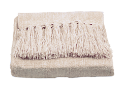 Susan Chenille Throw - Cream