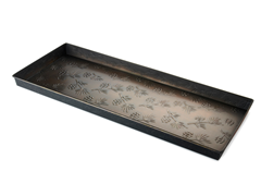 Antique Bronze Finished Boot Tray