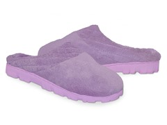 Women's Micro Chenille Clog, Lavender