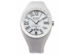 Men's BOX 40 WHITE White Dial Watch