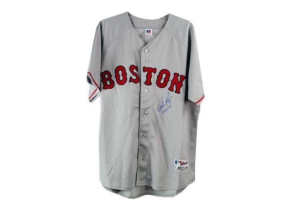 super popular d1b8c 1bcee Wade Boggs Signed Boston Red Sox Jersey
