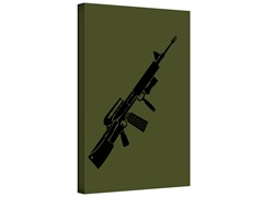 Kitchen Warfare Gallery Wrapped Canvas 2-Sizes