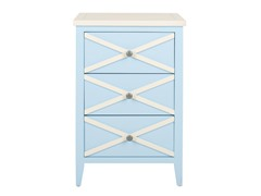 Sherrilyn 3 Drawer Side Table (3 Colors)