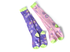 BFF Pink/Purple Knee Socks (2 Pair)