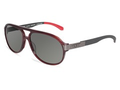 Malone Polarized Aviator, AF Burgundy
