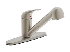 Estora Pull-Out Faucet, Brushed Nickel