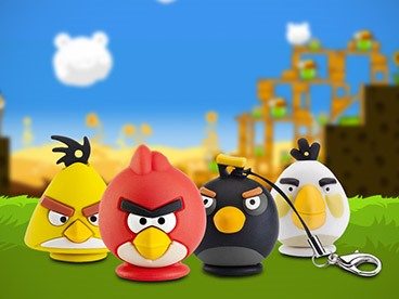 Emtec Angry Birds Flash Drives