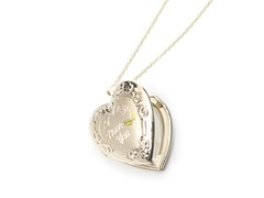 """I Love You"" Locket"