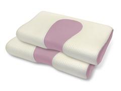 Pure Rest™ Scented Memory Foam Contour Pillow-S/2