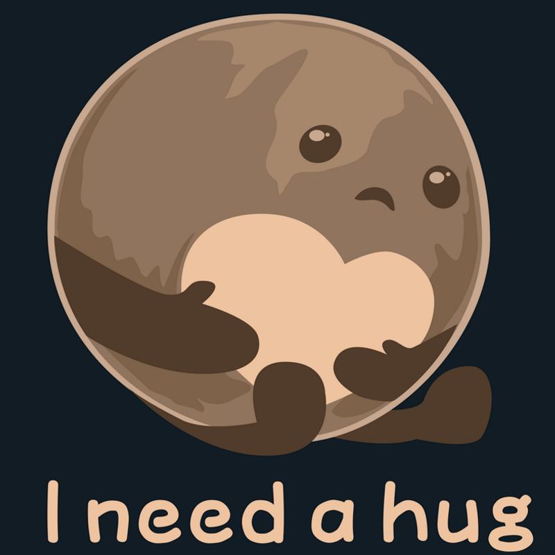 Pluto Needs Hugs