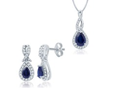 Diamond & Sapphire Set