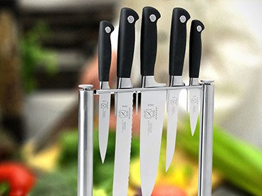 Mercer Genesis Forged Knife Block Set