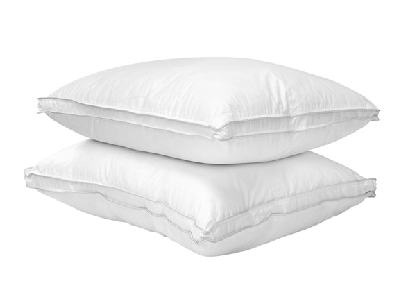 how to clean down alternative pillows