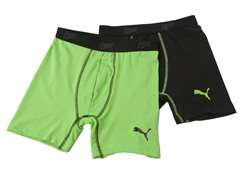 Black / Green Tech Boxer Brief - 2pk