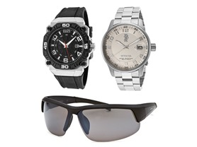 Men's Watches And Sunglasses Gift Set