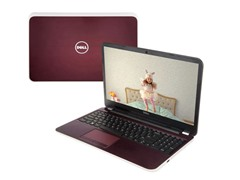 "Dell 17.3"" AMD Quad-Core Laptop - Merlot"