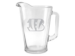 Bengals Satin Etched Pitcher