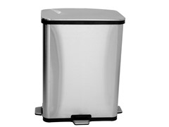 Fingerprint-Proof Step Sensor Trash Can