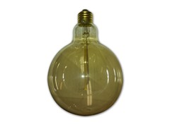 Vintage Ball Bulb, 40-watt, 2-Pack