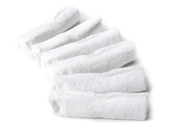 Wash Cloths (set of 6) White