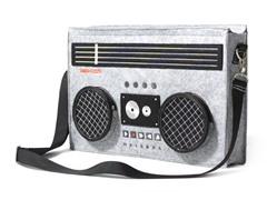 Classic 80's Boombox Bag