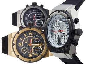Buech & Boilat Bastone Swiss Quartz Chronographs