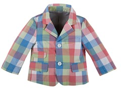 Plaid Blazer (3M-4T)