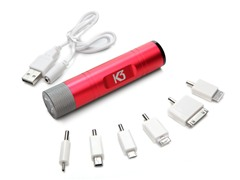 LED Flashlight/Rechargeable USB Charger
