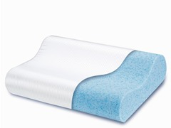 Gel Memory Foam Pillow-Standard