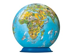 270Pc Illustrated World 3-D Puzzle Globe