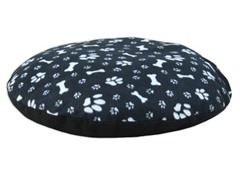 "Paw and Bone Round Fleece 36"" Pet Bed"