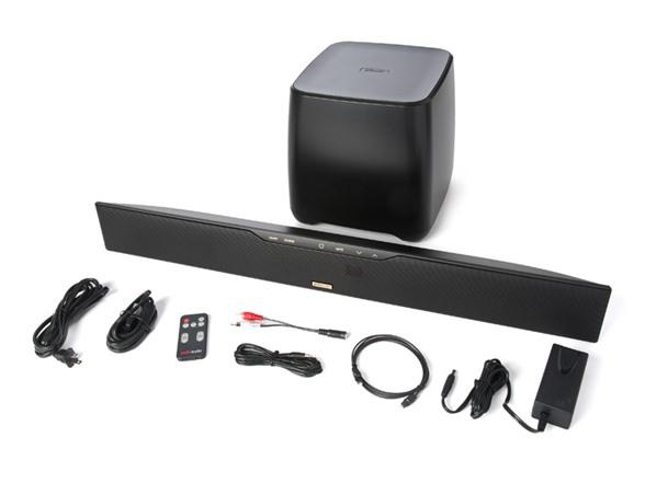 polk audio surroundbar w wireless sub rh woot com polk audio surroundbar 4000 review Polk Audio SurroundBar Licensed by Xbox