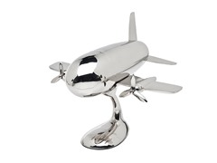 Airplane Cocktail Shaker On Stand