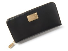 Jet Set Travel Wallet, Black