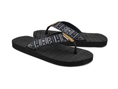 MUK LUKS® Men's Scotty Flip Flops, Black