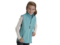 Turquoise Fleece Vest (XS-XL)
