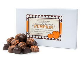 Candy Basket Pumpkin Assortment