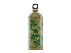 Jungle Camo 1-Liter Bottle, Green