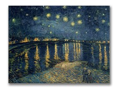 Van Gogh Starry Night II (2 Sizes)